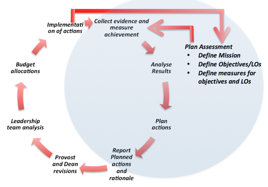 the assessment process  structure and responsibilities