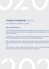 AUP Student Handbook 2020-21